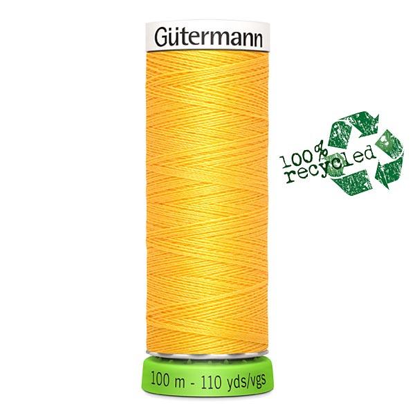 Fil à tout coudre rPET [417] | 100 m  | Gütermann – jaune soleil