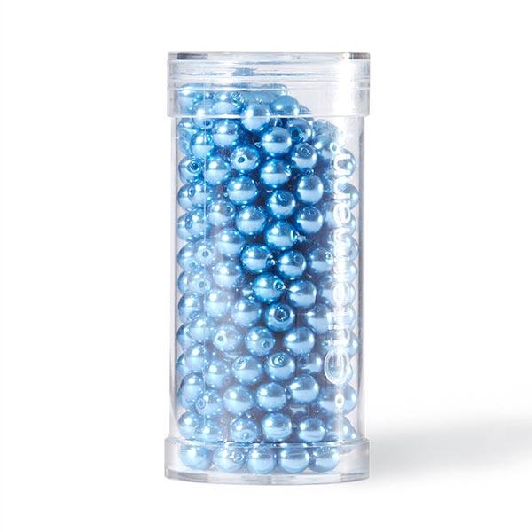 Renaissance Perlen [Ø 4 mm   345 Stück] - blau   Gütermann creativ