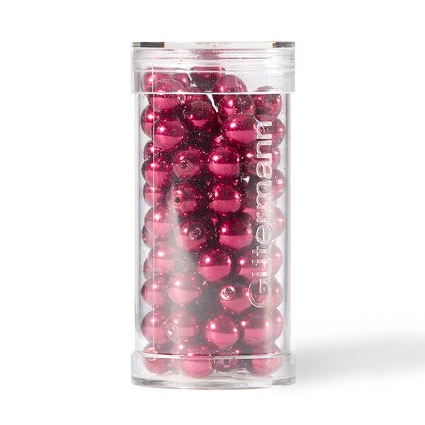 Perles Renaissance [Ø 6 mm | 100 pièces] - rouge bordeaux | Gütermann creativ