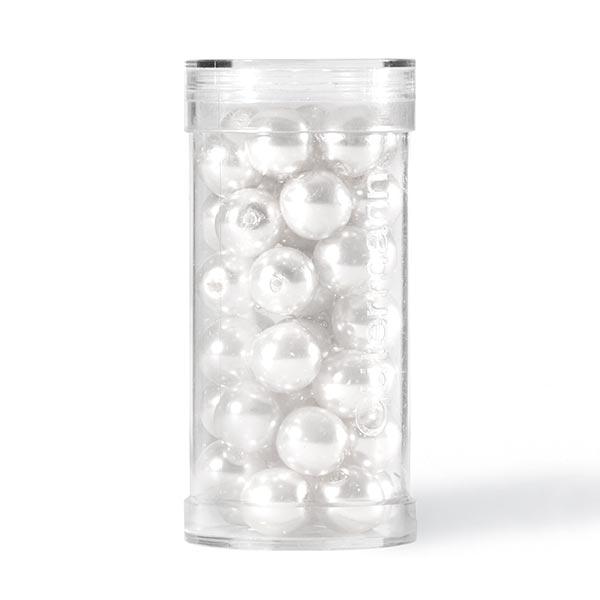 Perles Renaissance [Ø 8 mm | 44 pièces] - blanc | Gütermann creativ