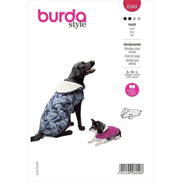 Hundemantel, Burda 6049   S/M/L