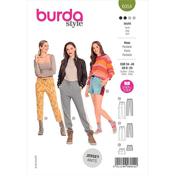 Jogpants, Burda 6054 | 34-48