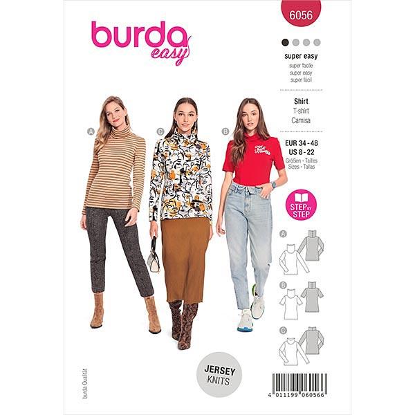 Pullover, Burda 6056   34-48