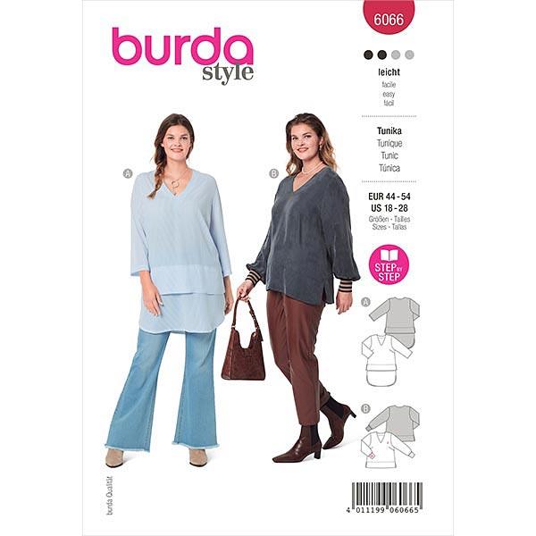 Tunika, Burda 6066   44-54