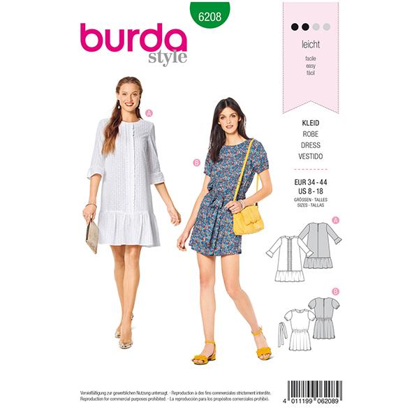 Robe, Burda 6208 | 34 - 44