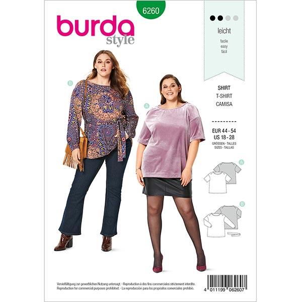 Haut, Burda 6260 | 44-54
