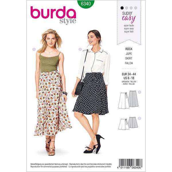 Jupe, Burda 6340 | 34 - 44