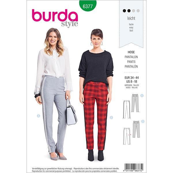 Pantalon, Burda 6377   34 - 44