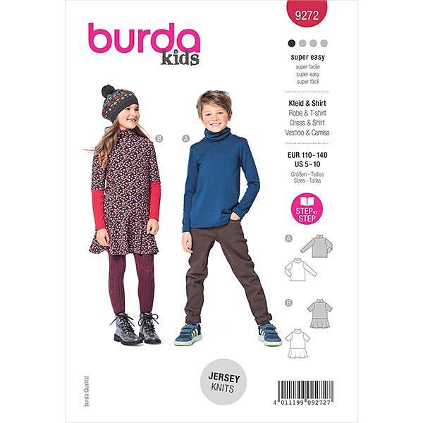 Kleid, Burda 9272   110-140