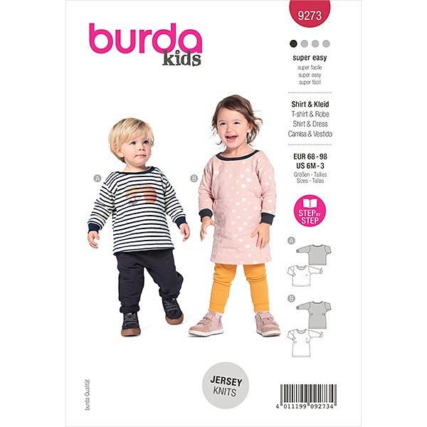 Kleid, Burda 9273   68-98