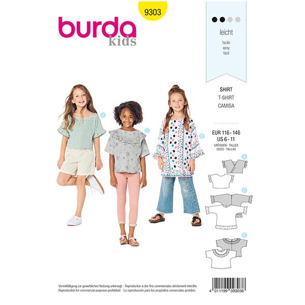 Haut, Burda 9303 | 116 - 146