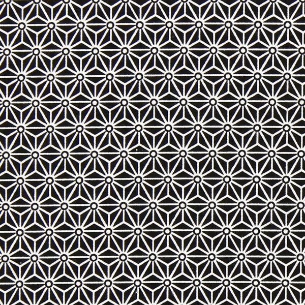 Tissu de décoration Saki – noir