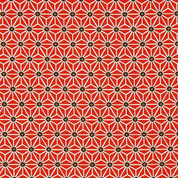 Tissu de décoration Saki – rouge