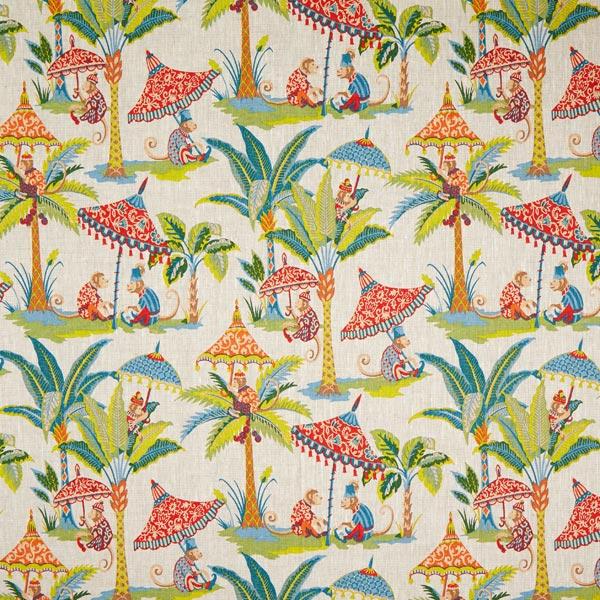 Lin de décoration Singe dans la jungle – nature