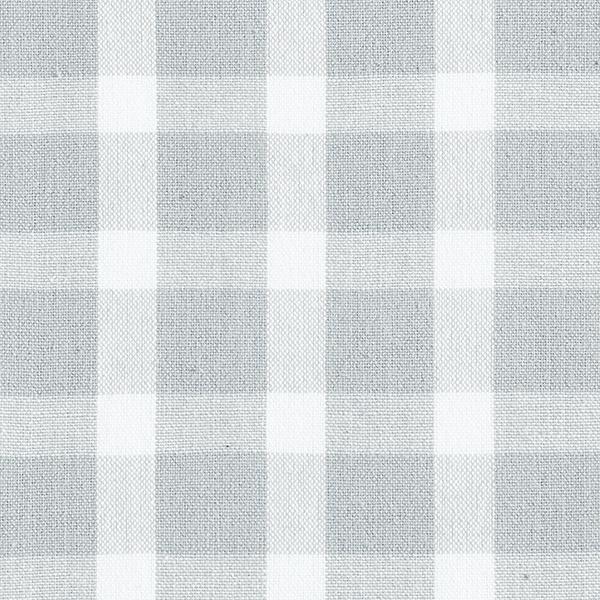 Tissu de décoration Tissu coton Carreaux – gris