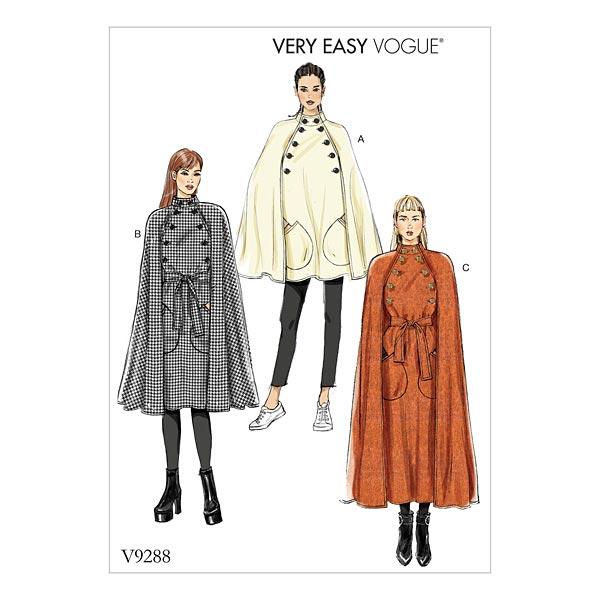 Cape | Ceinture, Very Easy Vogue9288 | 32 - 40