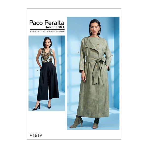 Manteau/Pantalon, Vogue 1619 | 40-48