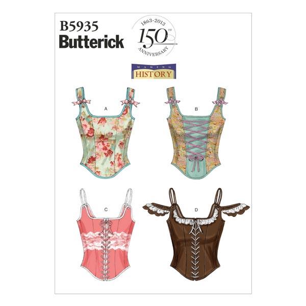 Corset historique, Butterick 5935|38 - 46