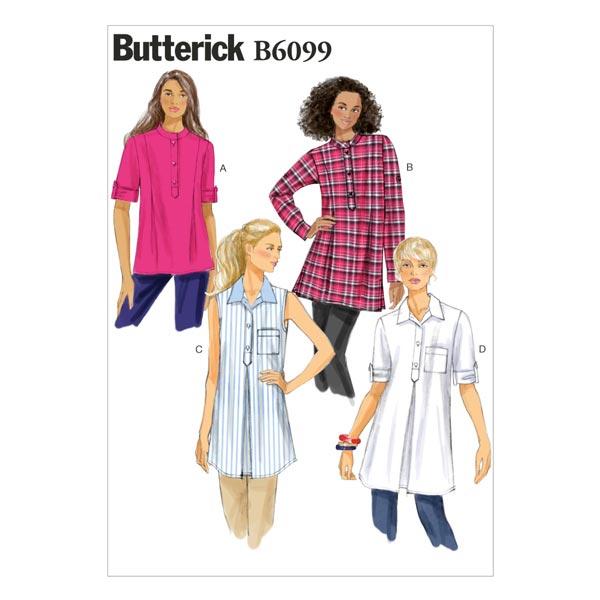 Tunique, Butterick 6099 32 - 40 42 - 50