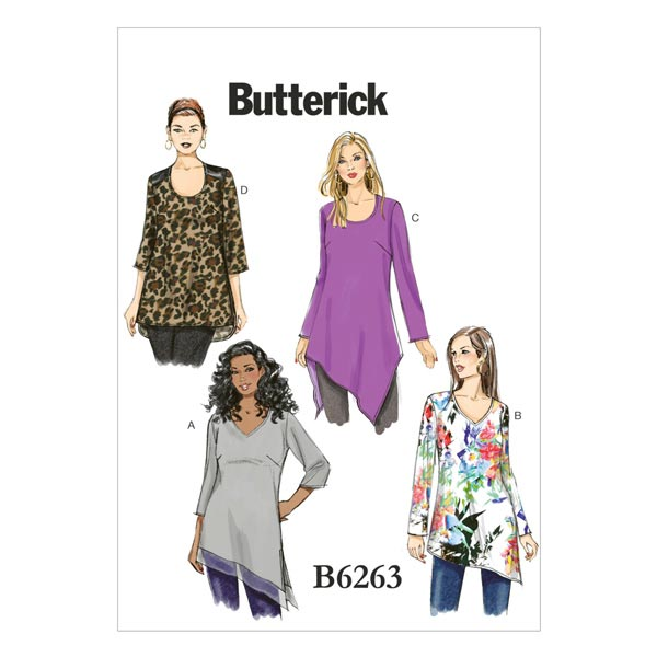 Haut|Tunique, Butterick 6263|44 - 50