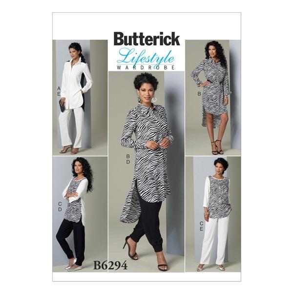 Tunique|Pantalon, Butterick 6294|34 - 42