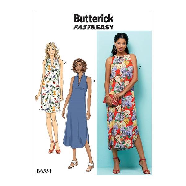 Robe, Butterick 6551 | L - XXL