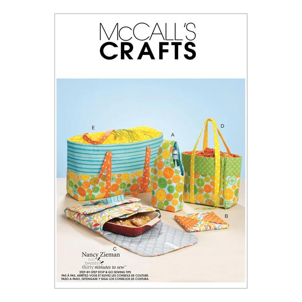 Accessoires de pique-nique, McCalls 6338