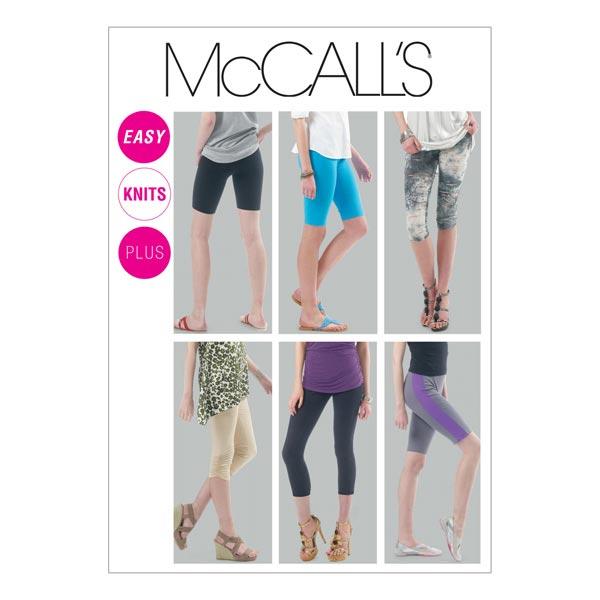 Leggings, McCalls 6360 | 32 - 40