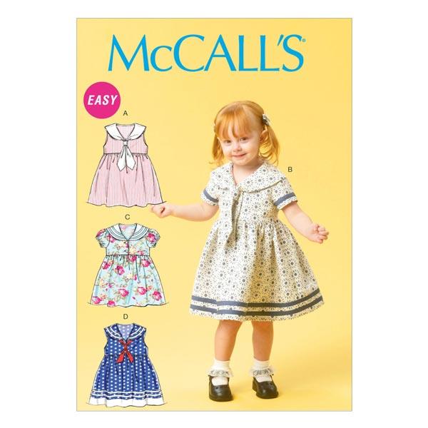 Robe bébé, McCalls 6913   71 - 102