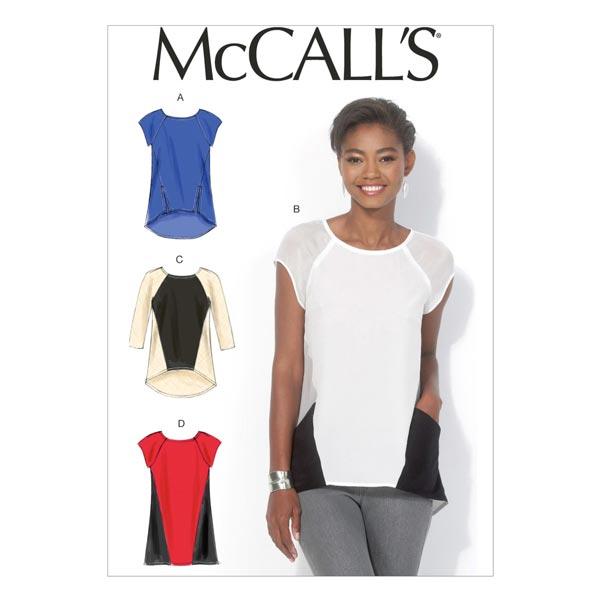 Hauts|Tunique, McCalls 7093 | 32 - 48