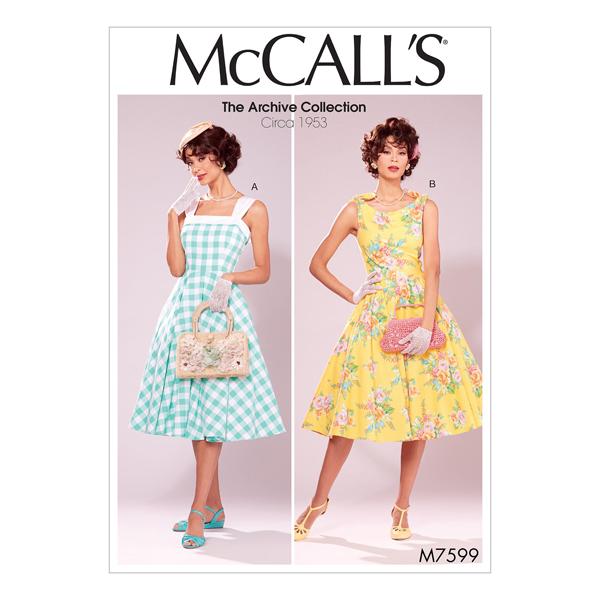 Robe - vintage 1953, McCalls 7599 | 40 - 48
