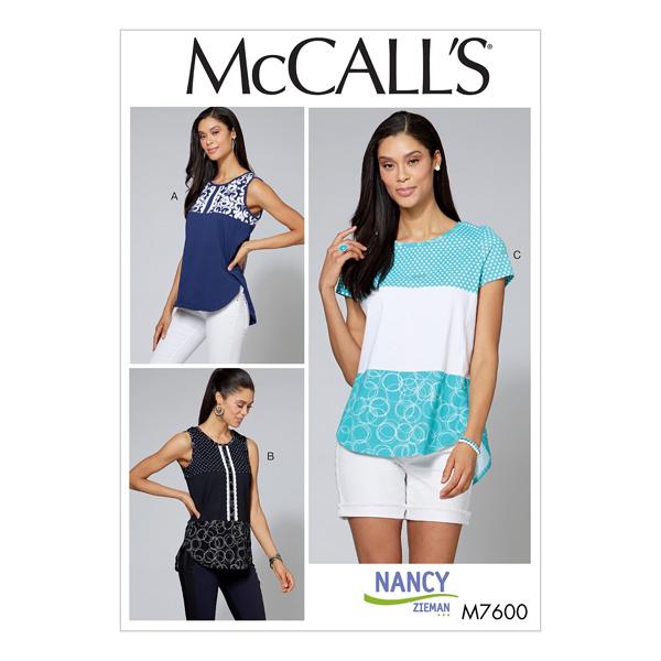 Haut, McCalls 7600   42 - 50