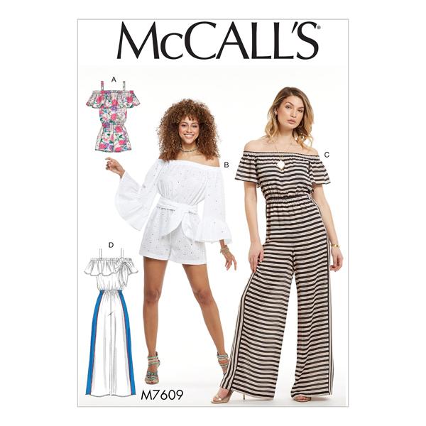 Combinaison, McCalls 7609 | 32 - 40