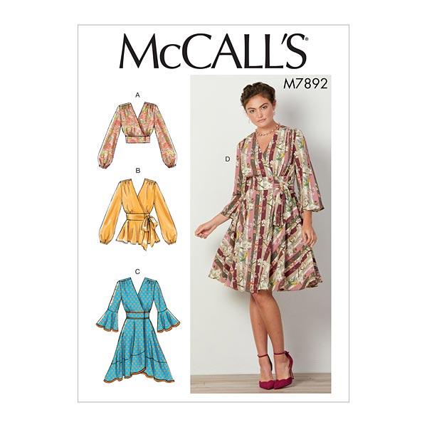 Haut/Robe, McCalls  7892 | 40-48