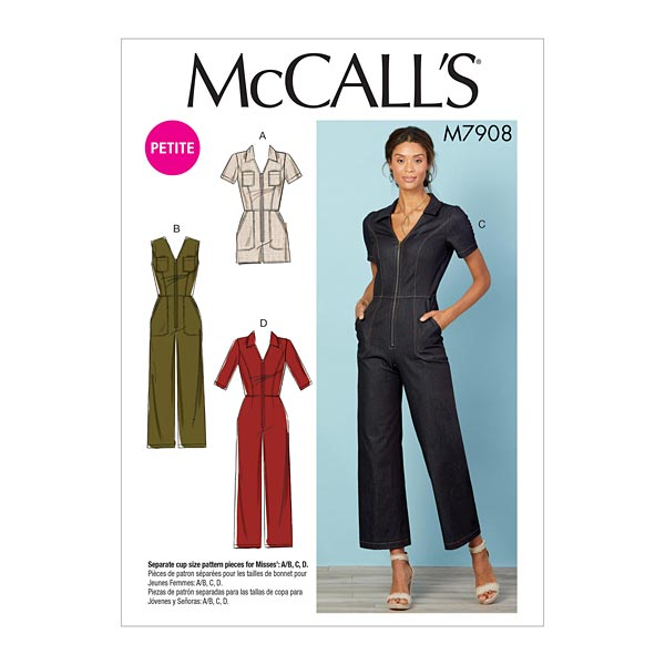 Combinaison McCalls 7908 | 32-40
