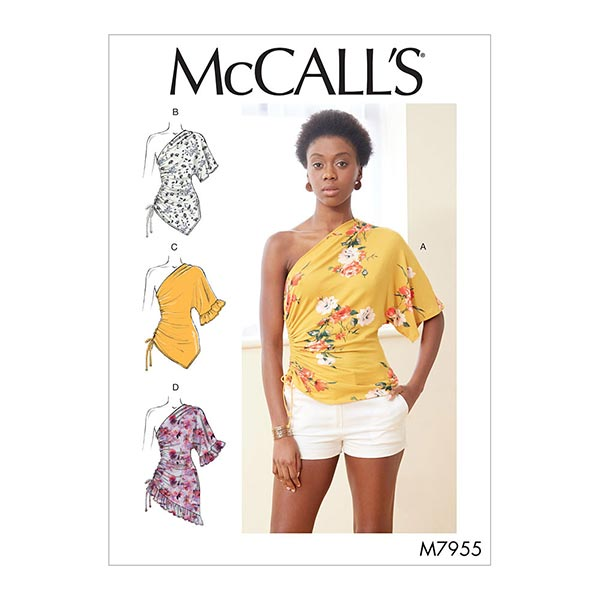 Top, McCall's 7955 | 32-40