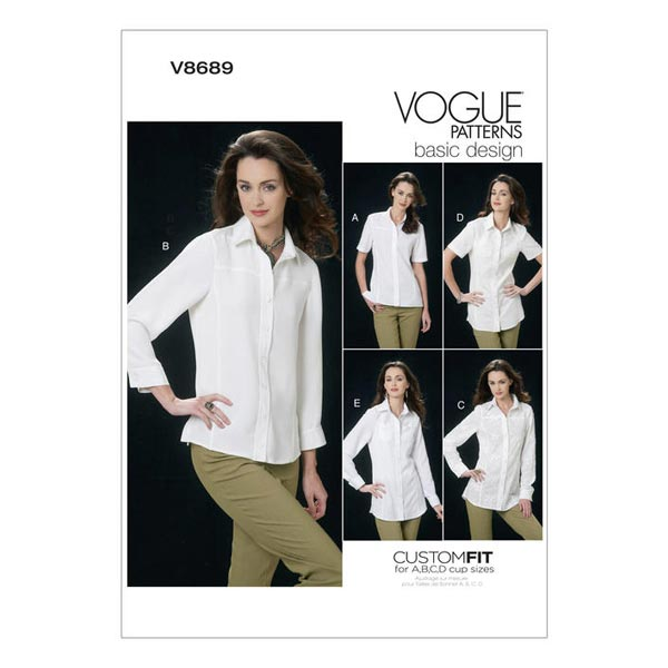 Chemisier, Vogue 8689 | 32 - 48