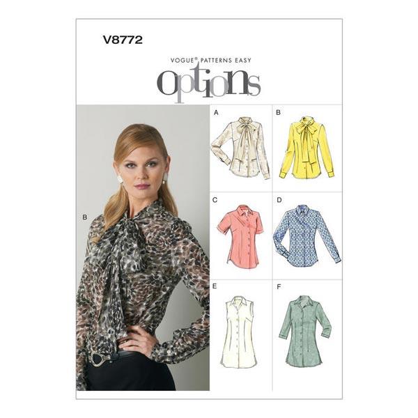 Chemisier, Vogue 8772 | 32 - 48