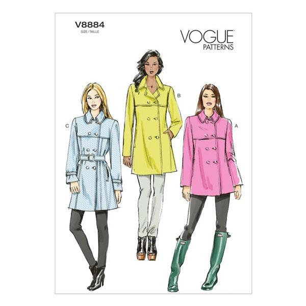 Manteau, Vogue 8884 | 32 - 48
