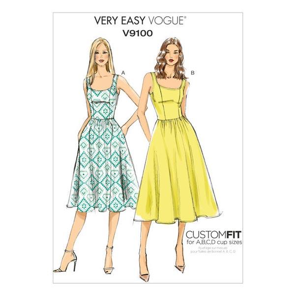 Robe, Vogue 9100 | 32 - 48