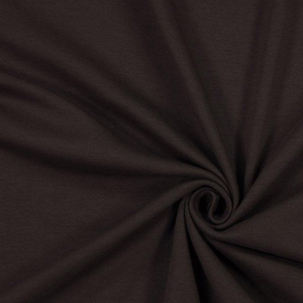 Jersey interlock – marron foncé