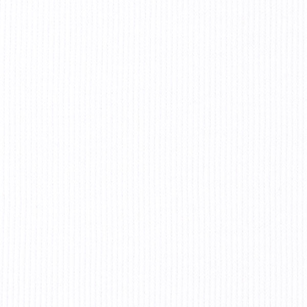 Bordure tricotée – blanc