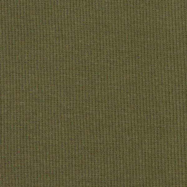 Bordure tricotée – olive foncé