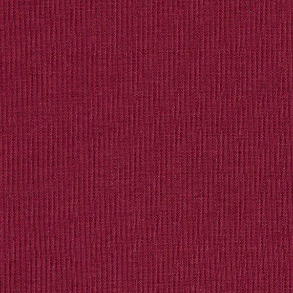 Bordure tricotée – rouge bordeaux