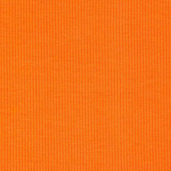 Bordure tricotée – orange