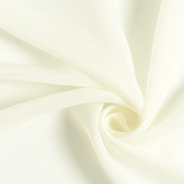 Gardinenstoff recycelt 320 cm – wollweiss
