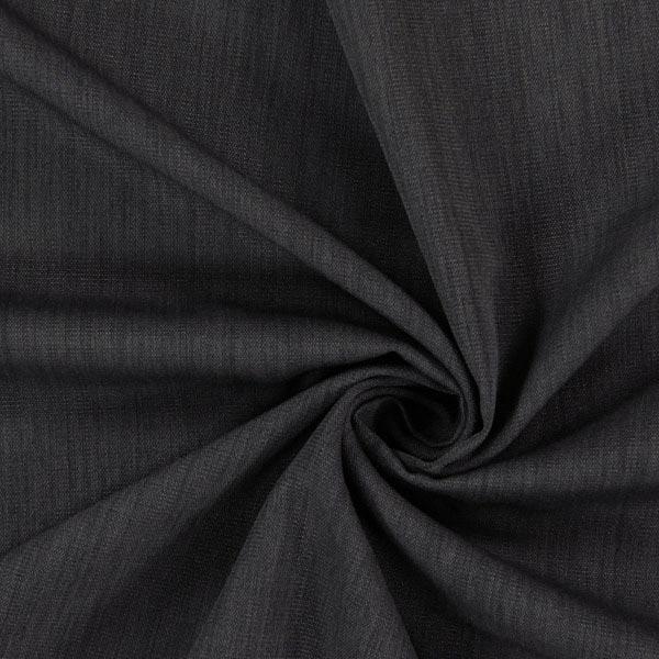 Tissu pour voilage recyclé – anthracite