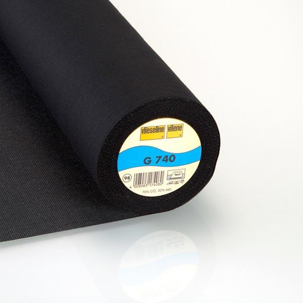G 740 Gewebeeinlage - schwarz | Vlieseline
