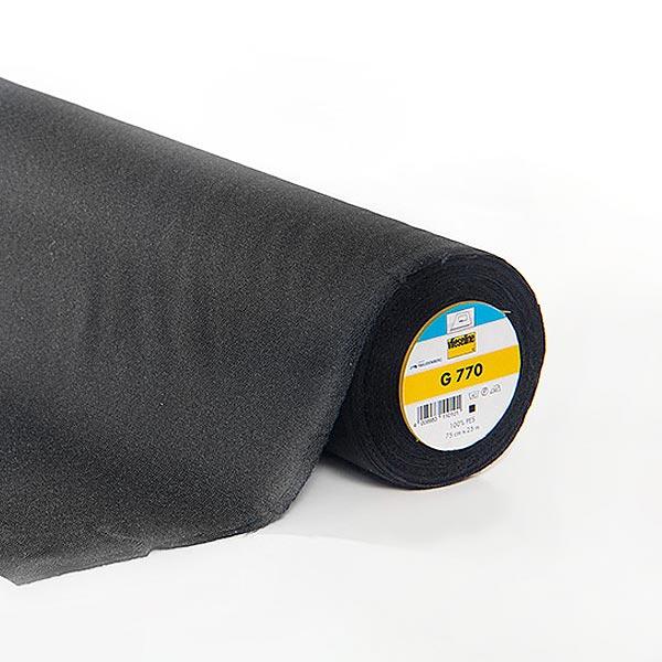 G 770 Gewebeeinlage - schwarz | Vlieseline