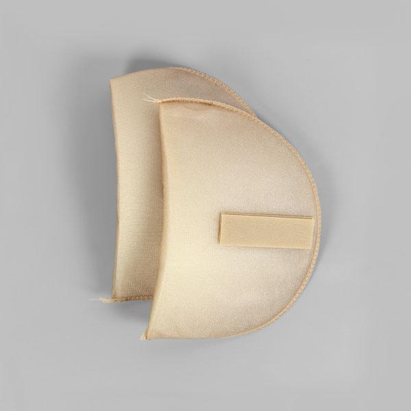 Schulterpolster mit Klett für Raglan Blusen & Kleider [16,5 x 11 cm] - haut | YKK
